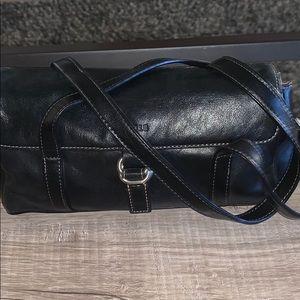 Aurielle Leather Shoulder Bag (small)